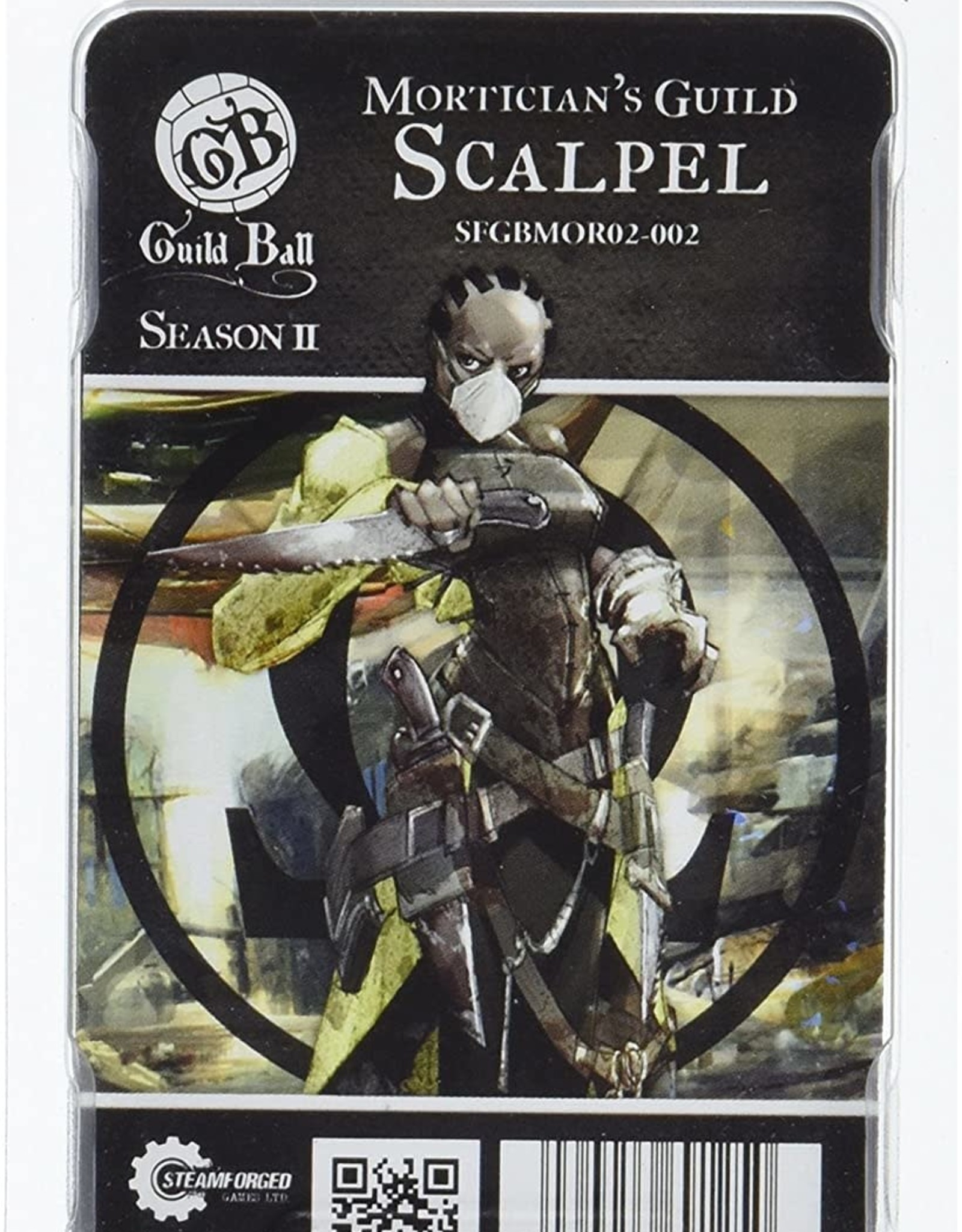 Guild Ball GB - Morticians: Scalpel