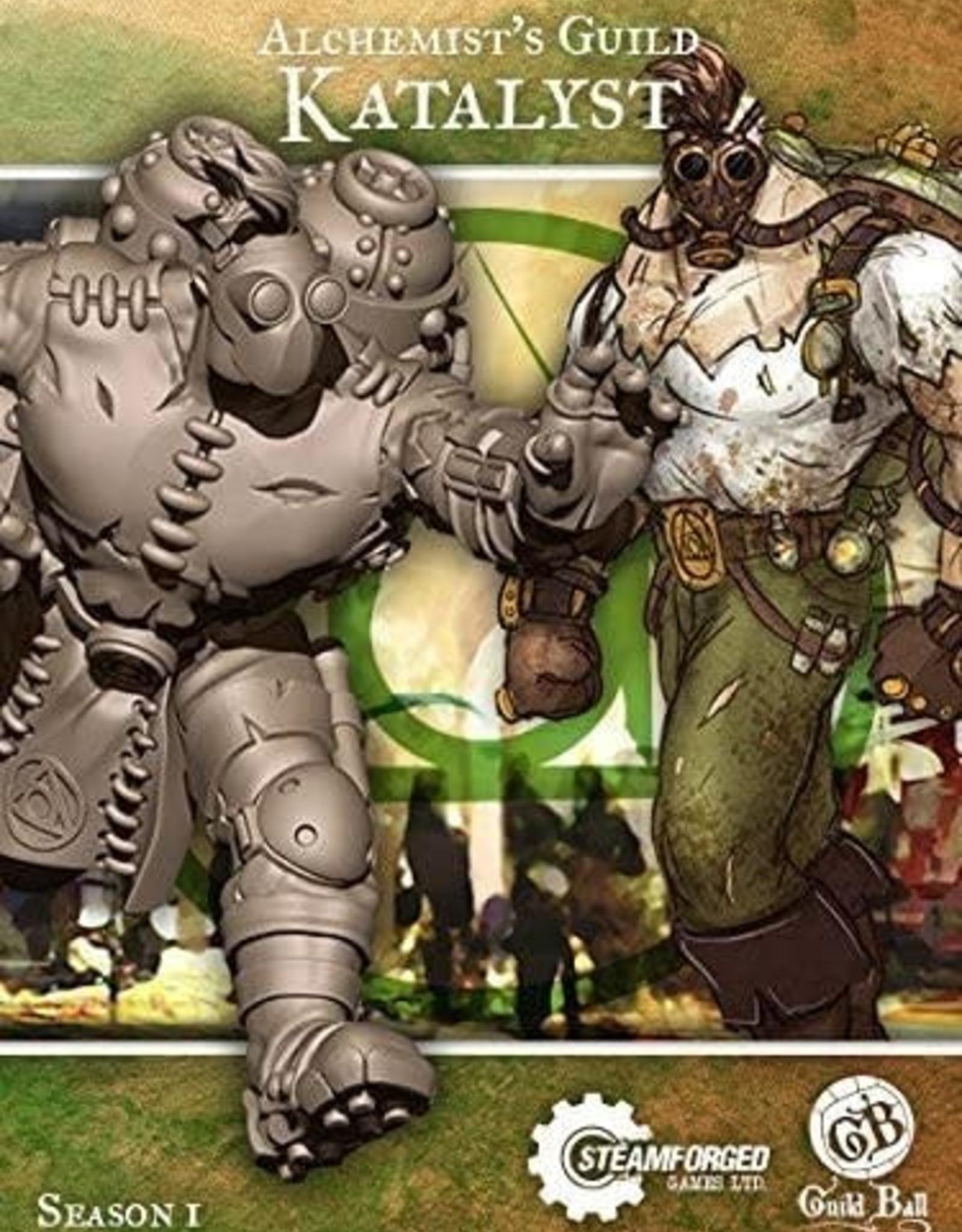 Guild Ball GB - Alchemist: Katalyst