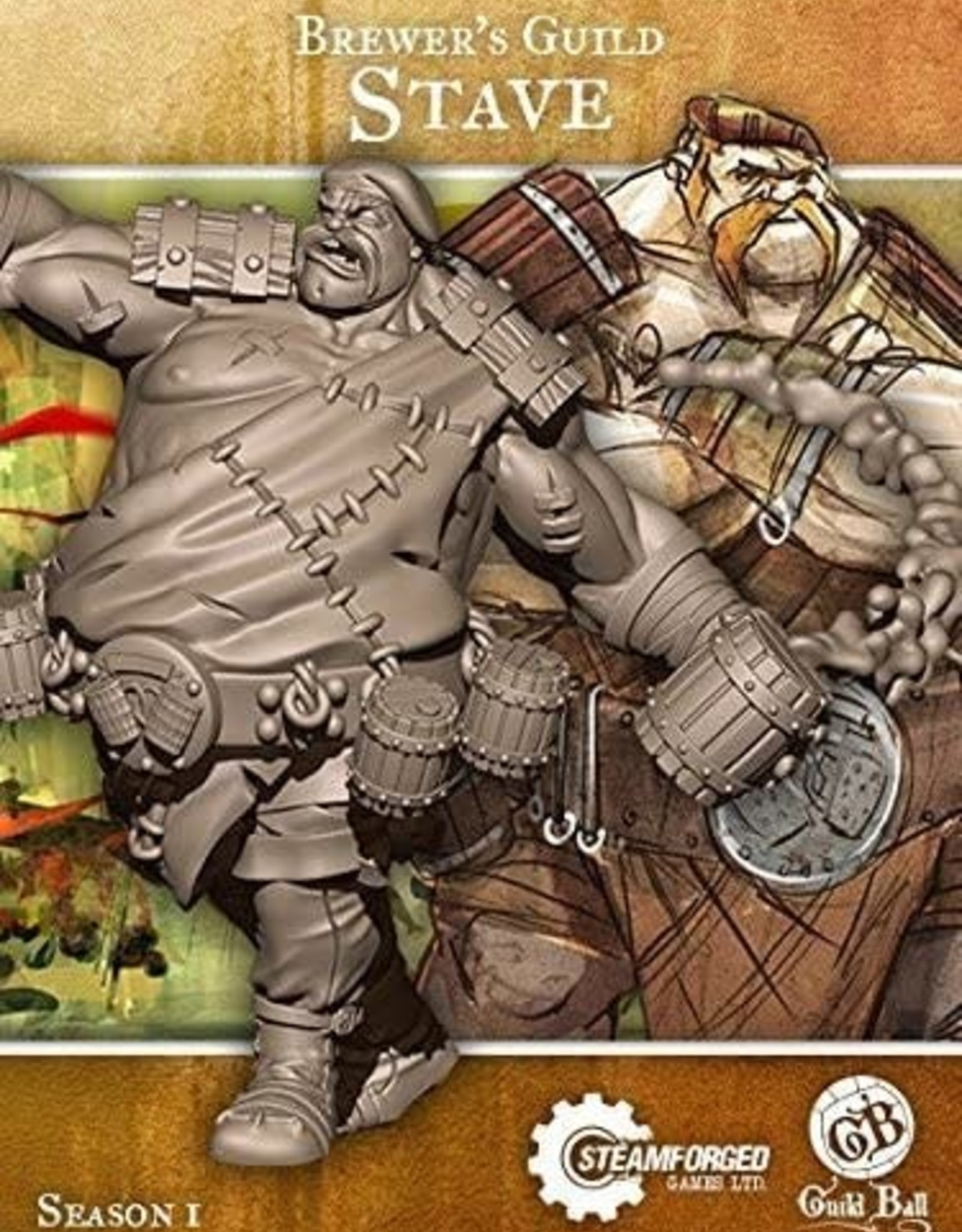 Guild Ball GB - Brewer: Stave