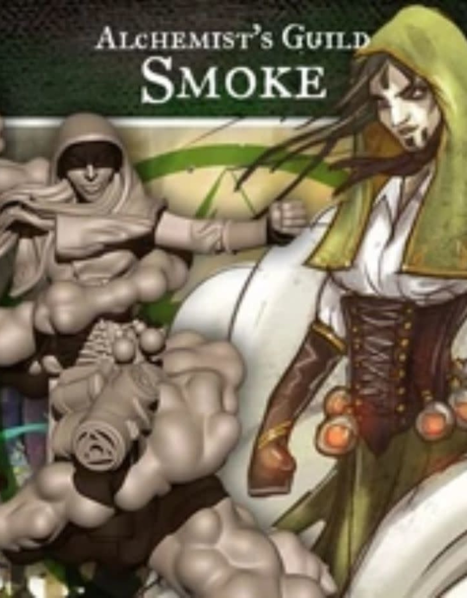 Guild Ball GB - Alchemist: Smoke