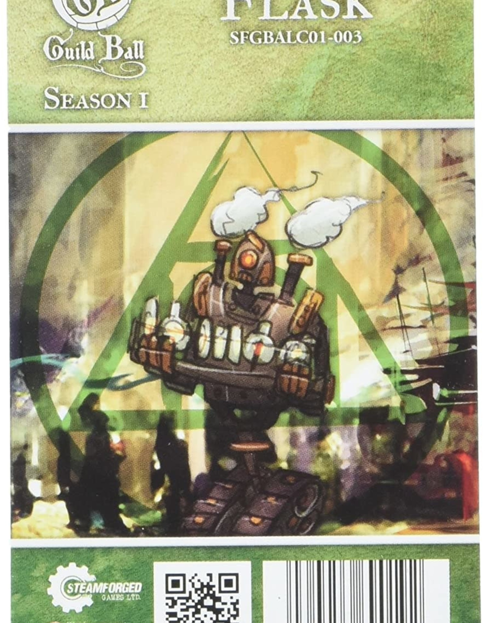 Guild Ball GB - Alchemist: Flask