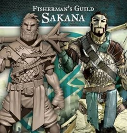 Guild Ball GB - Fisherman: Sakana