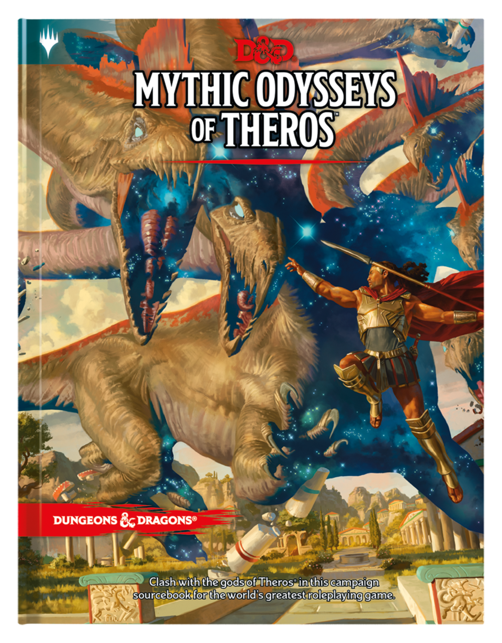 Dungeons & Dragons D&D 5th: Mythic Odysees of Theros