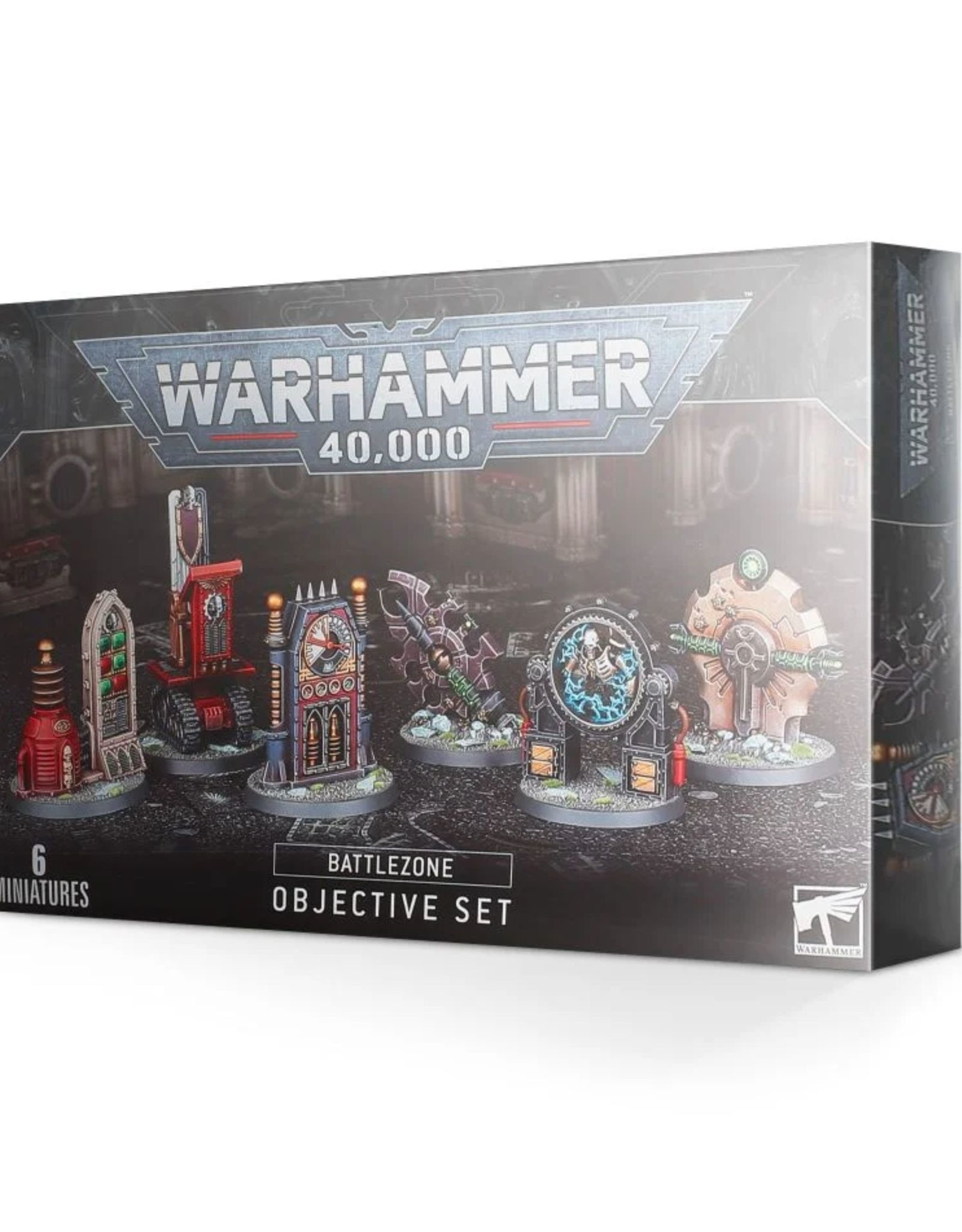 Warhammer 40k 40k  Battlezone Objectives