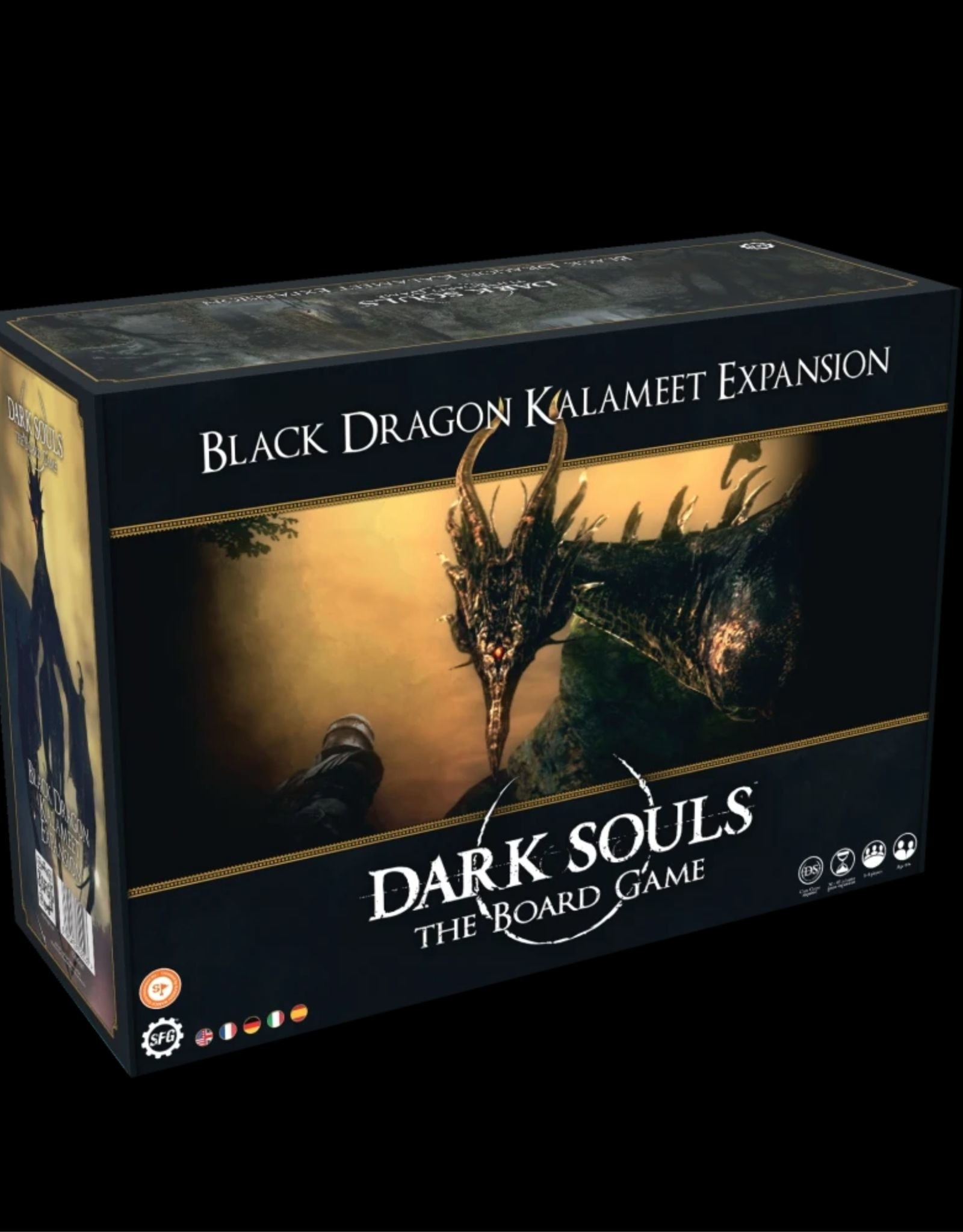 Dark Souls Dark Souls TBG:  Black Dragon Kalameet