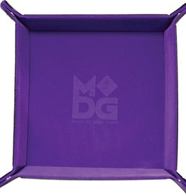 Metalic Dice Trays Folding Dice Tray - Velvet Purple