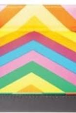 Metalic Dice Trays Folding Dice Tray - Leather Rainbow