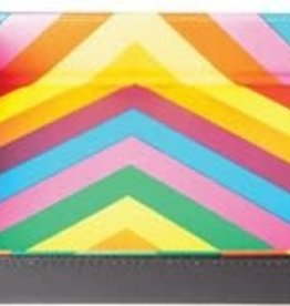 Metalic Dice Trays Folding Dice Tray - Leather Rainbow