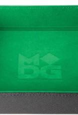 Metalic Dice Trays Folding Dice Tray - Velvet Green