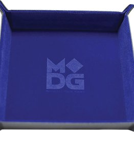 Metalic Dice Trays Folding Dice Tray - Velvet Blue