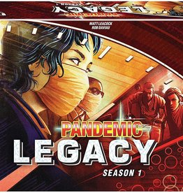 Pandemic Pandemic Legacy Season 1 (Red)