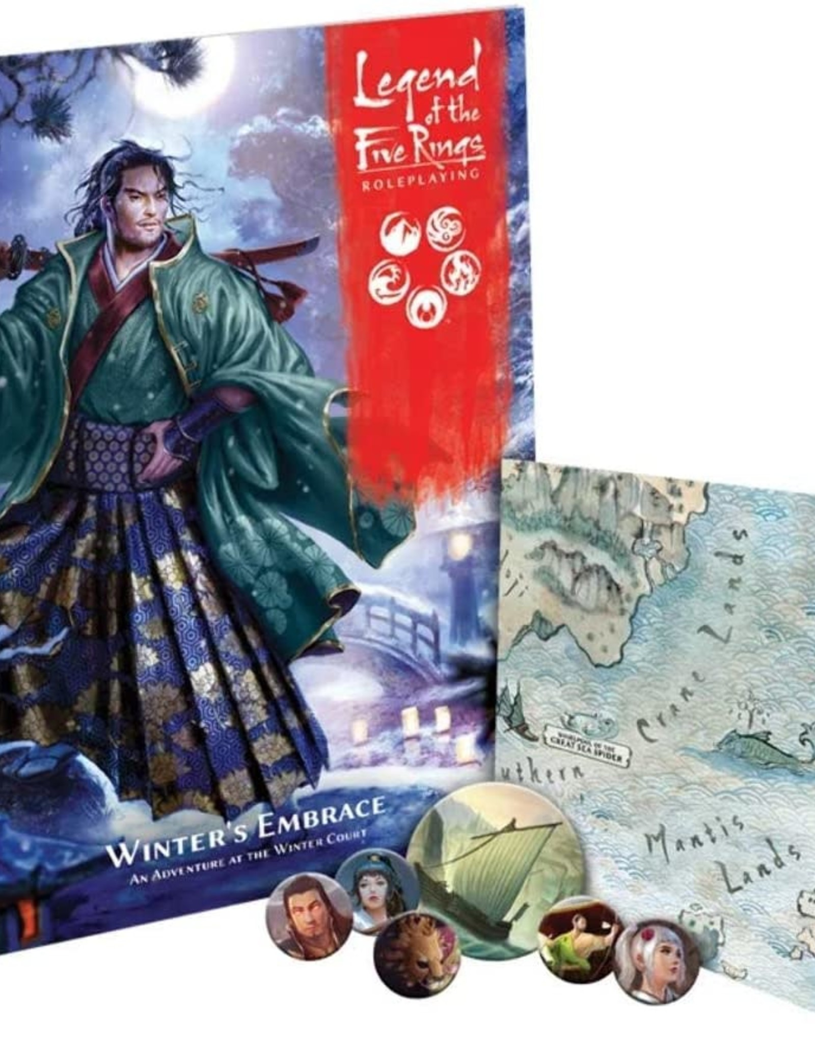 Legend of the Five RIngs L5R - RPG : Winter's Embrace