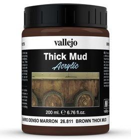 Vallejo Diorama Effects: Thick Brown Mud