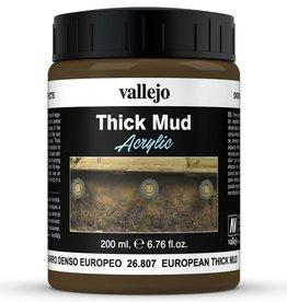 Vallejo Diorama Effects: Thick European Mud