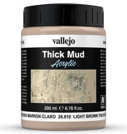 Vallejo Diorama Effects: Thick Light Brown Mud