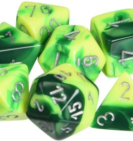 Chessex Vortex - Green/Yellow Polyheral Set
