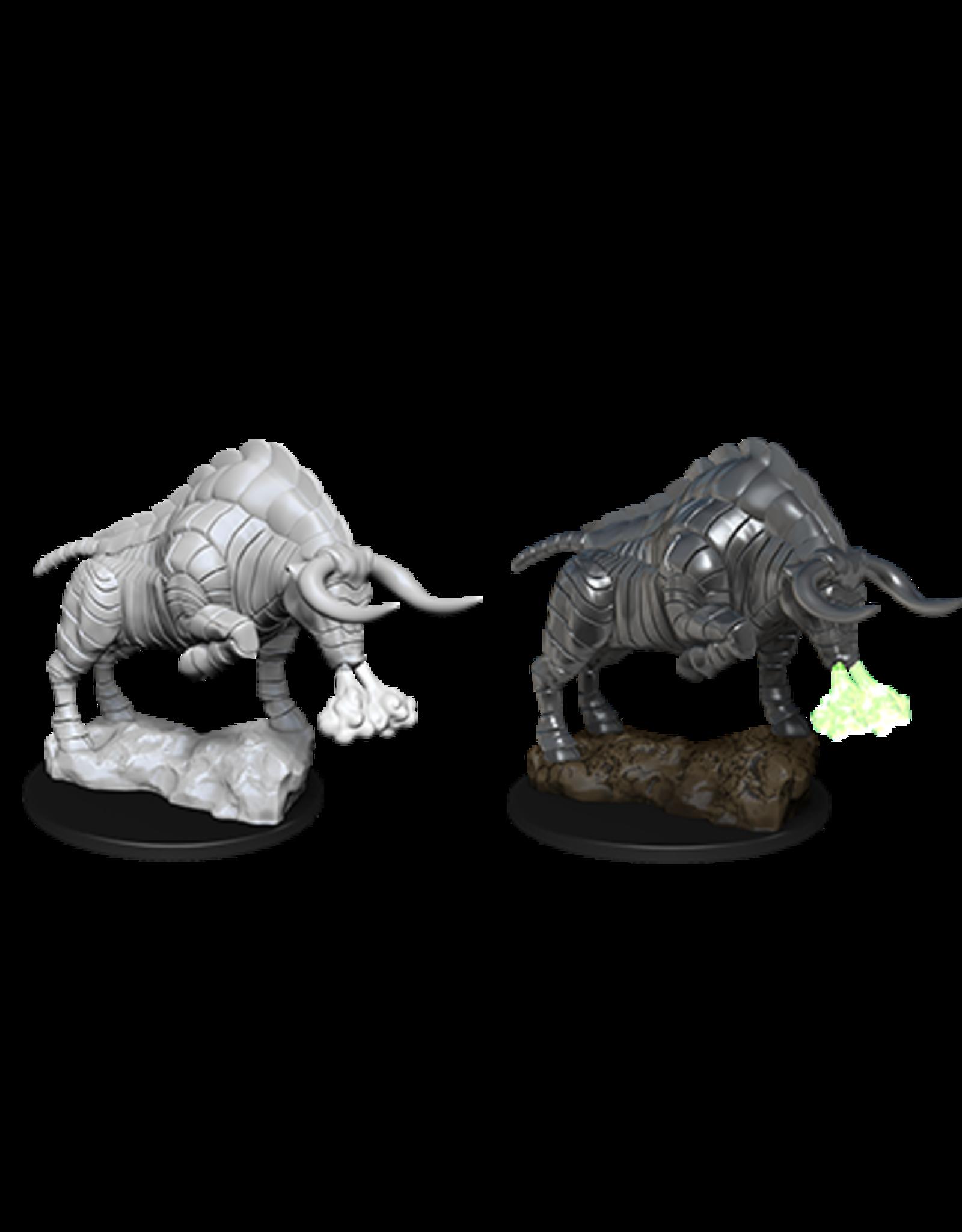 Nolzur's Marvelous Miniatures D&D D&D NMU - Gorgon (W12)