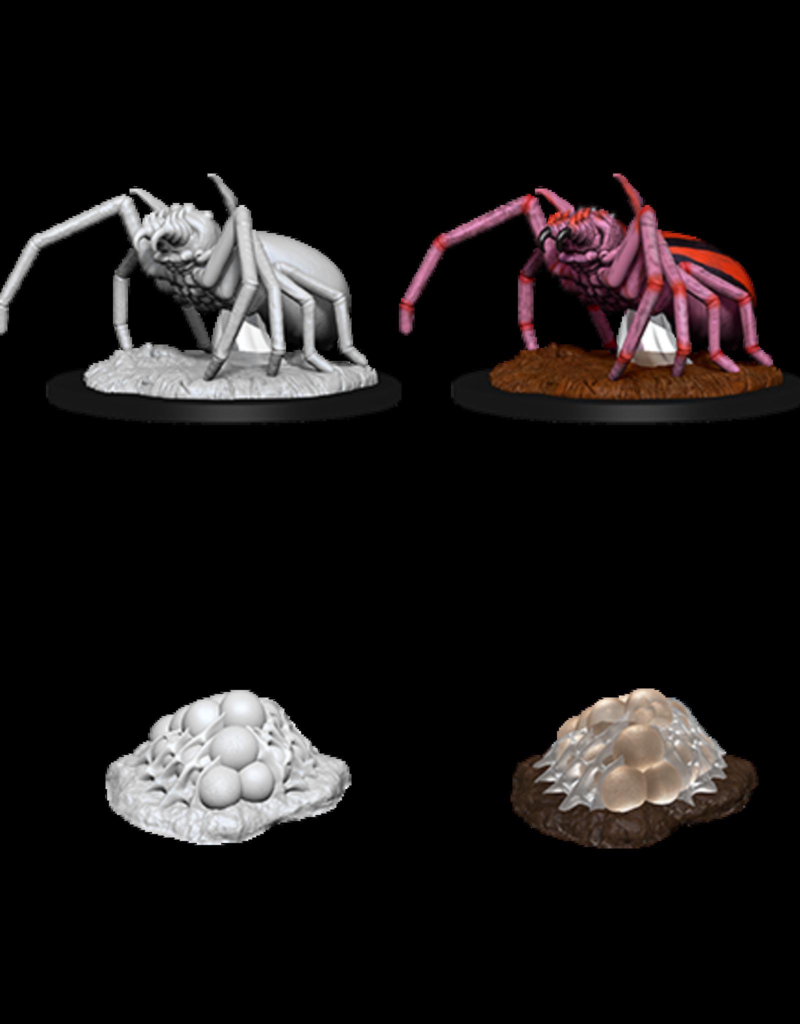 Nolzur's Marvelous Miniatures D&D D&D NMU - Giant Spider & Egg Clutch (W12)