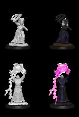 Nolzur's Marvelous Miniatures D&D D&D NMU - Drow Mage & Drow Priestess (W12)