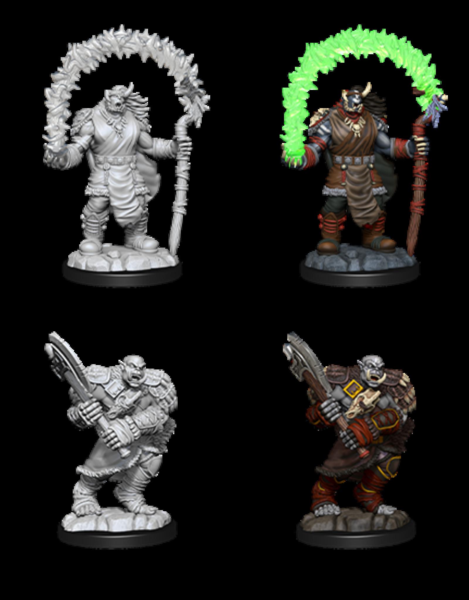 Nolzur's Marvelous Miniatures D&D D&D NMU - Orc Adventurers (W12)
