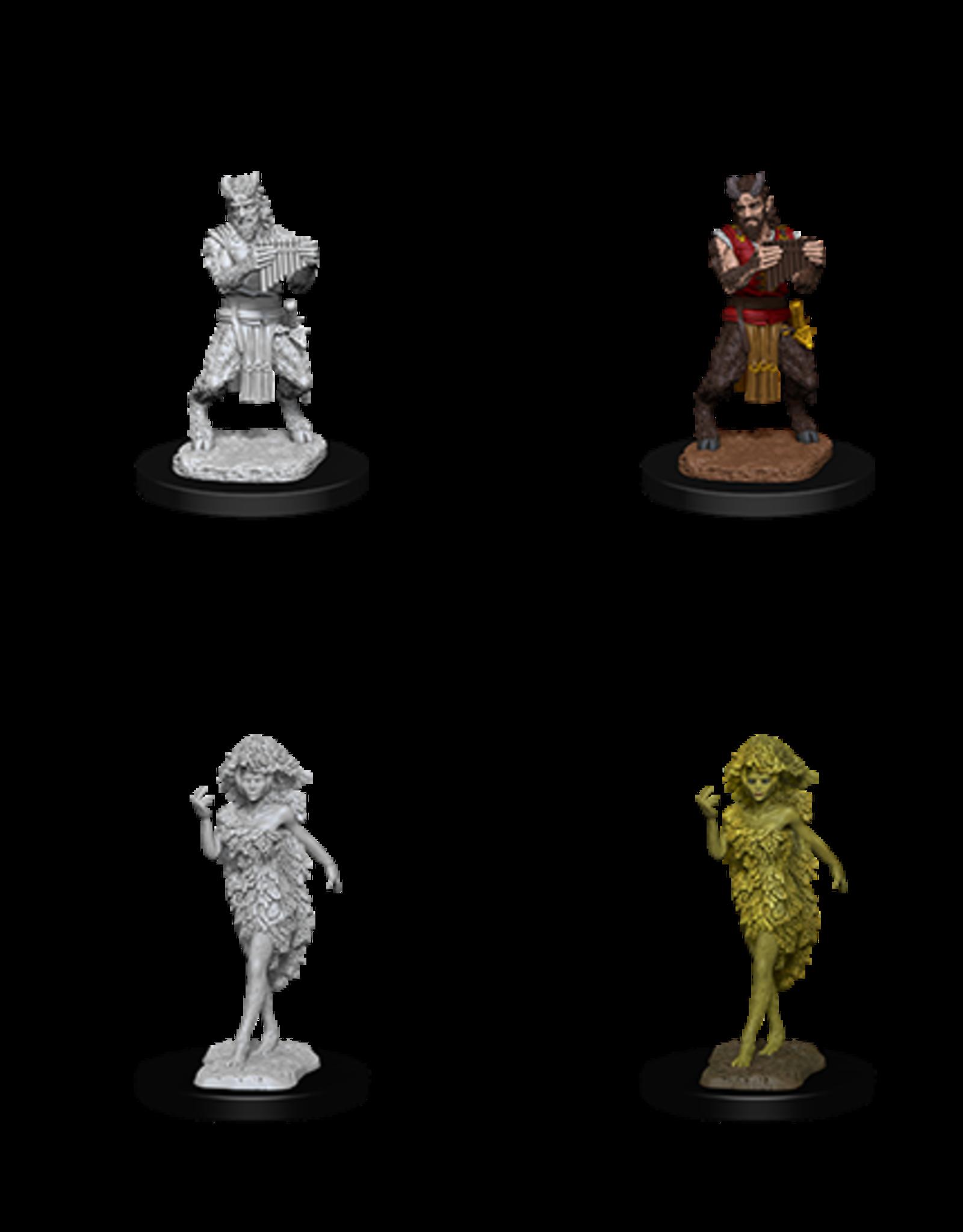 Nolzur's Marvelous Miniatures D&D NMU: Satyr & Dryad (W11)