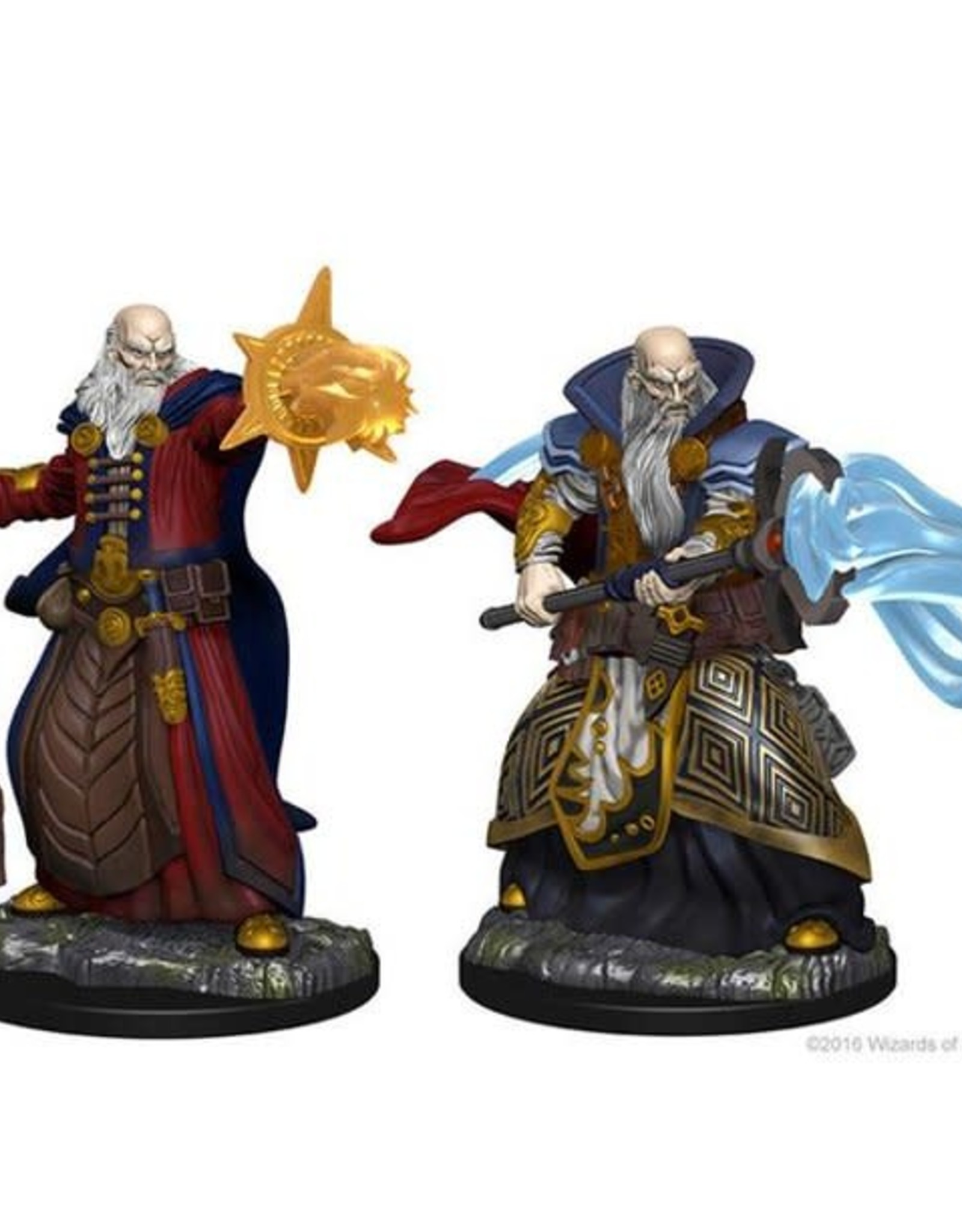 Dungeons & Dragons D&D NMU - Human Wizard