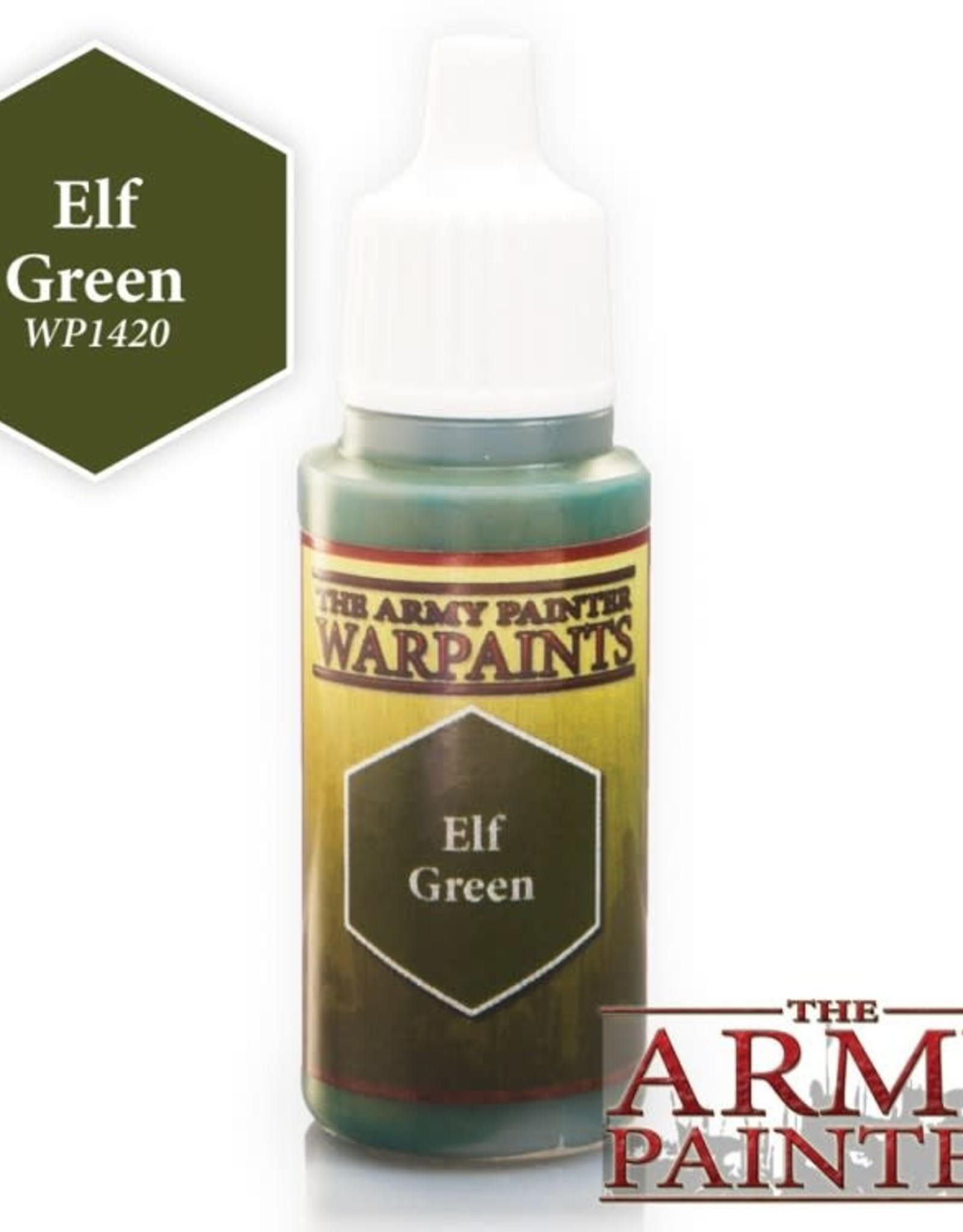 The Army Painter Warpaints - Elf Green