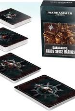 Warhammer 40k 40k - Chaos Space Marine 2.0 Datacards