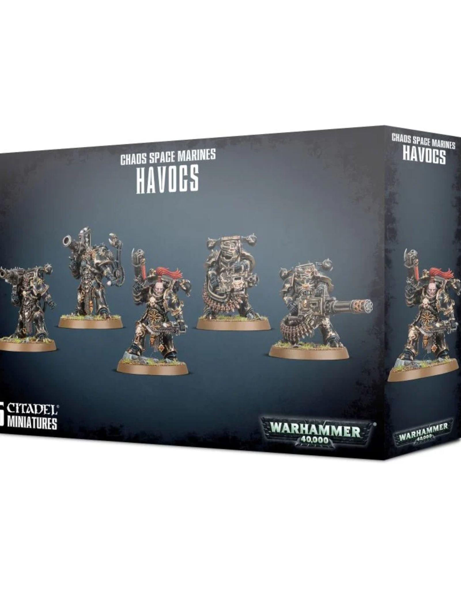 Warhammer 40k Chaos Space Marine Havocs