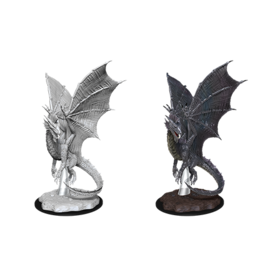 Dungeons & Dragons D&D NMU - Young Silver Dragon