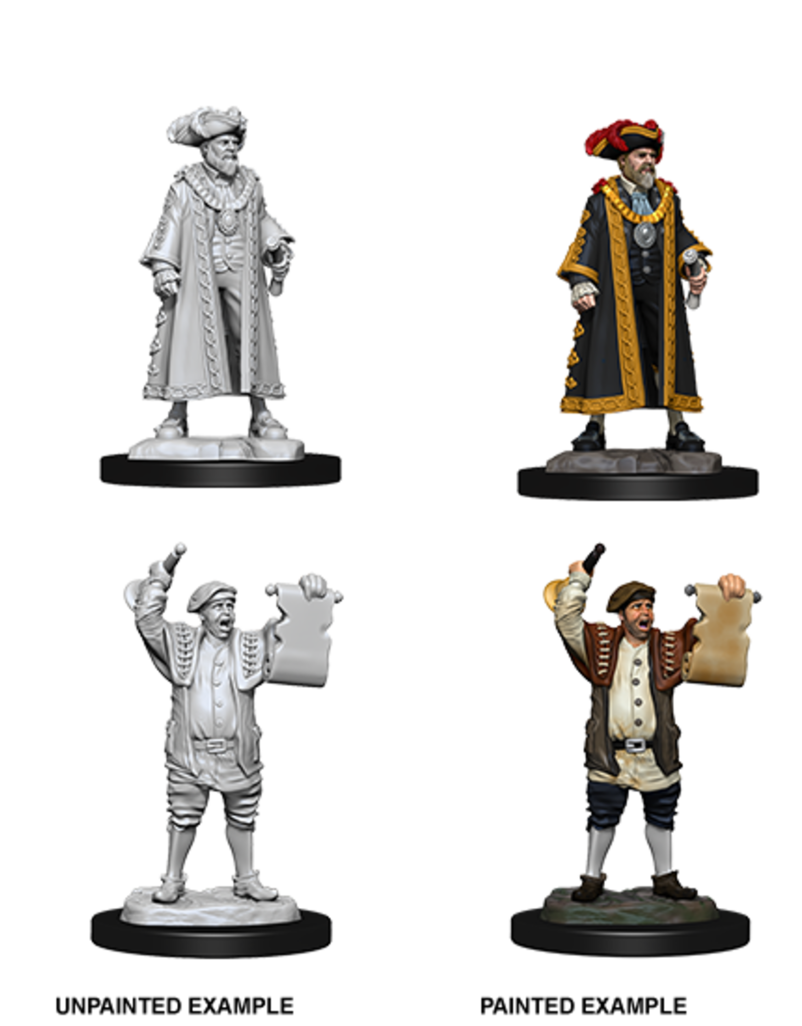 Dungeons & Dragons D&D NMU - Mayor & Town Crier