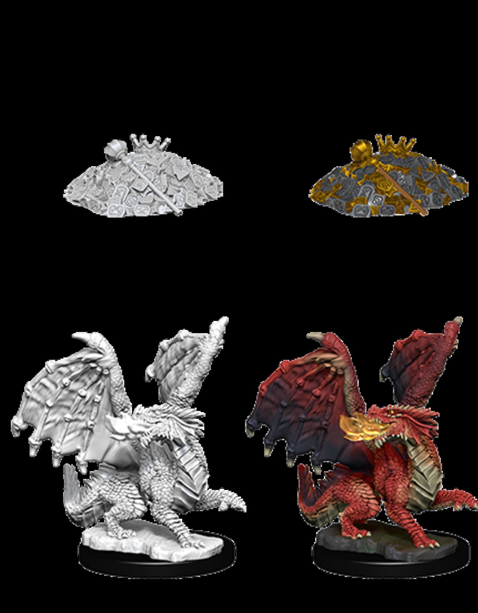 Dungeons & Dragons D&D NMU - Red Dragon Wyrmlings