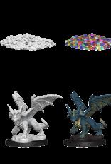 Dungeons & Dragons D&D NMU - Blue Dragon Wrymling