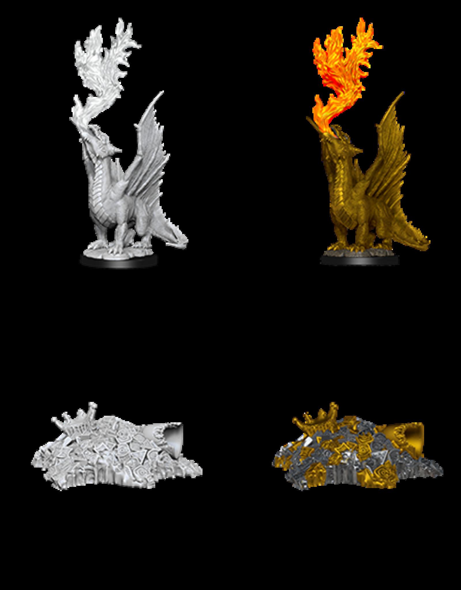 Nolzur's Marvelous Miniatures D&D D&D NMU - Gold Dragon Wyrmling