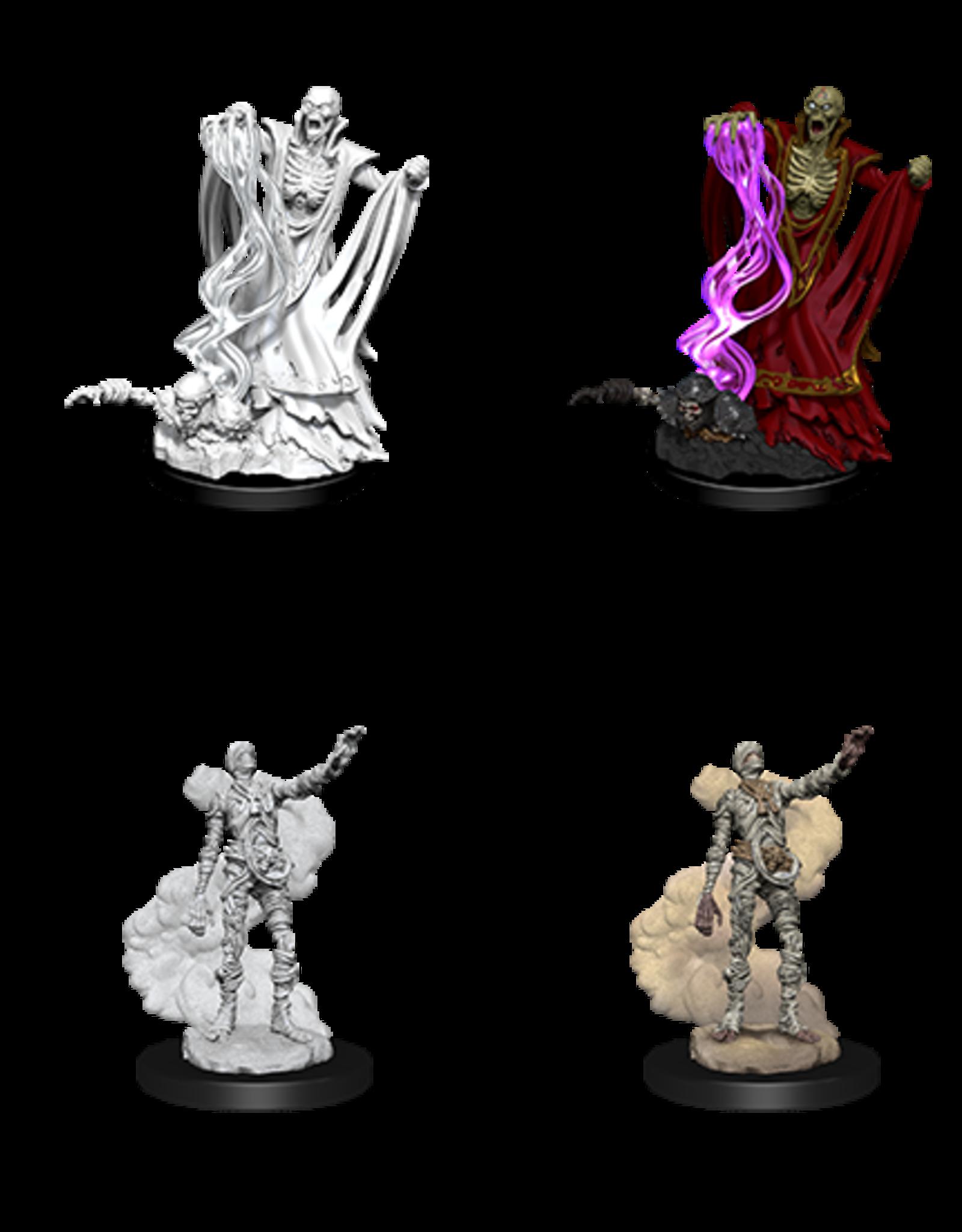 Nolzur's Marvelous Miniatures D&D D&D NMU - Lich & Mummy Lord
