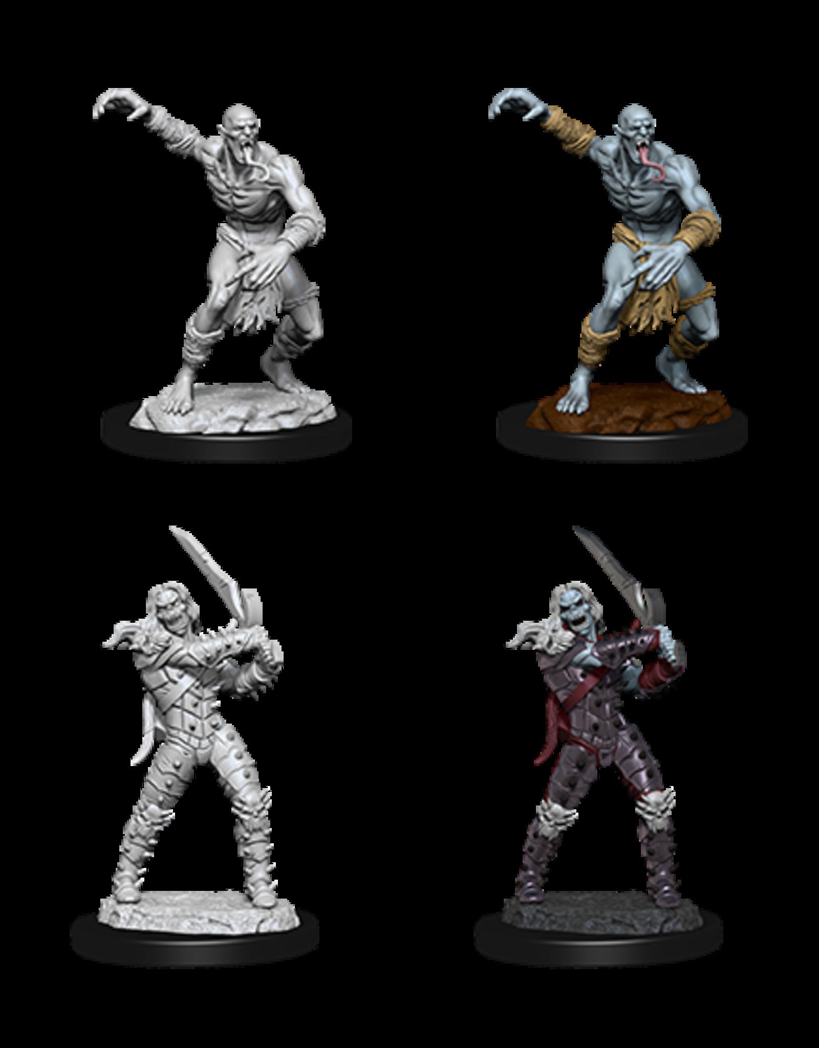 Nolzur's Marvelous Miniatures D&D D&D NMU - Wight & Ghast