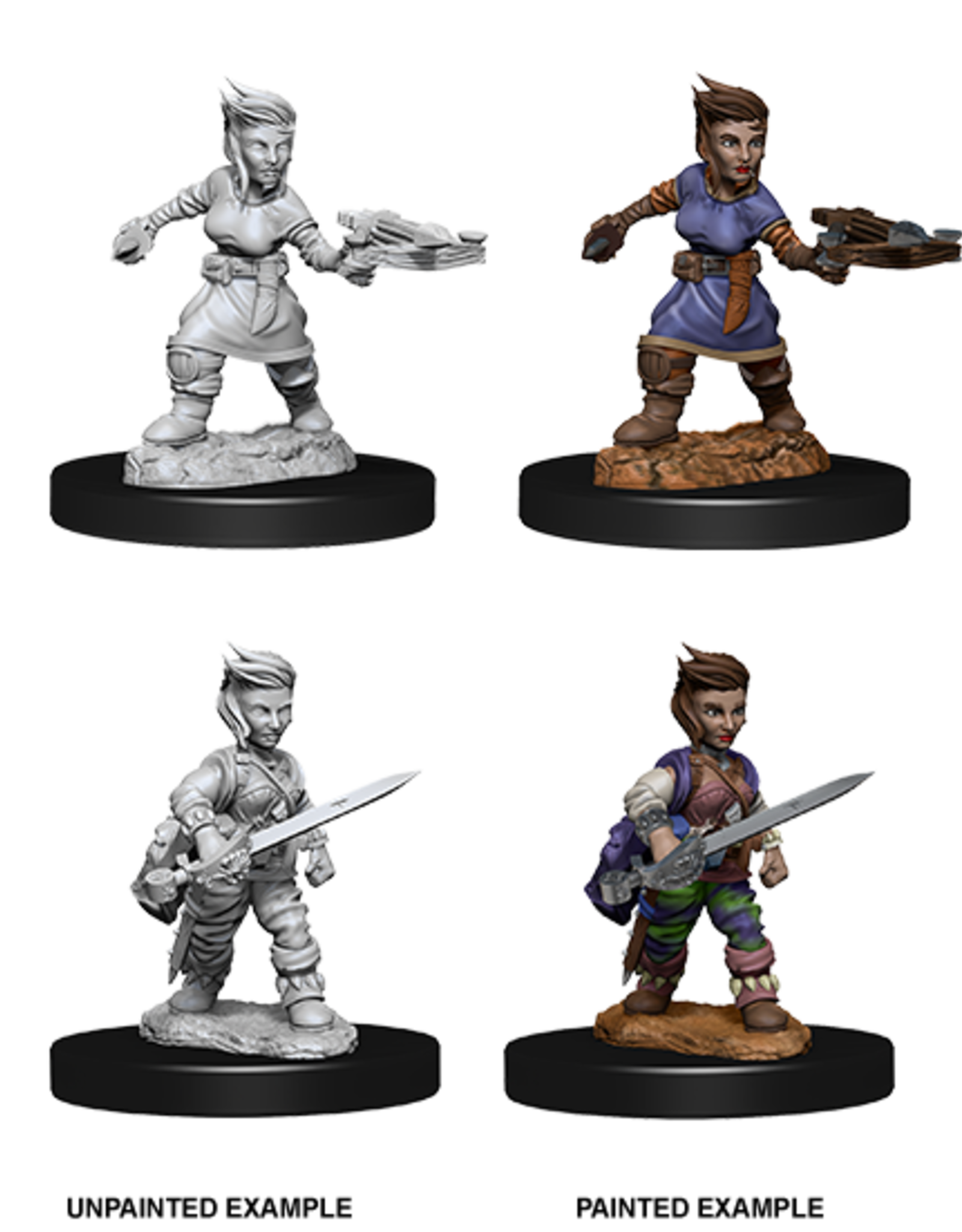 Nolzur's Marvelous Miniatures D&D D&D NMU - Female Halfling Rogue