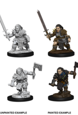 Dungeons & Dragons D&D NMU - Female Dwarf Barbarian