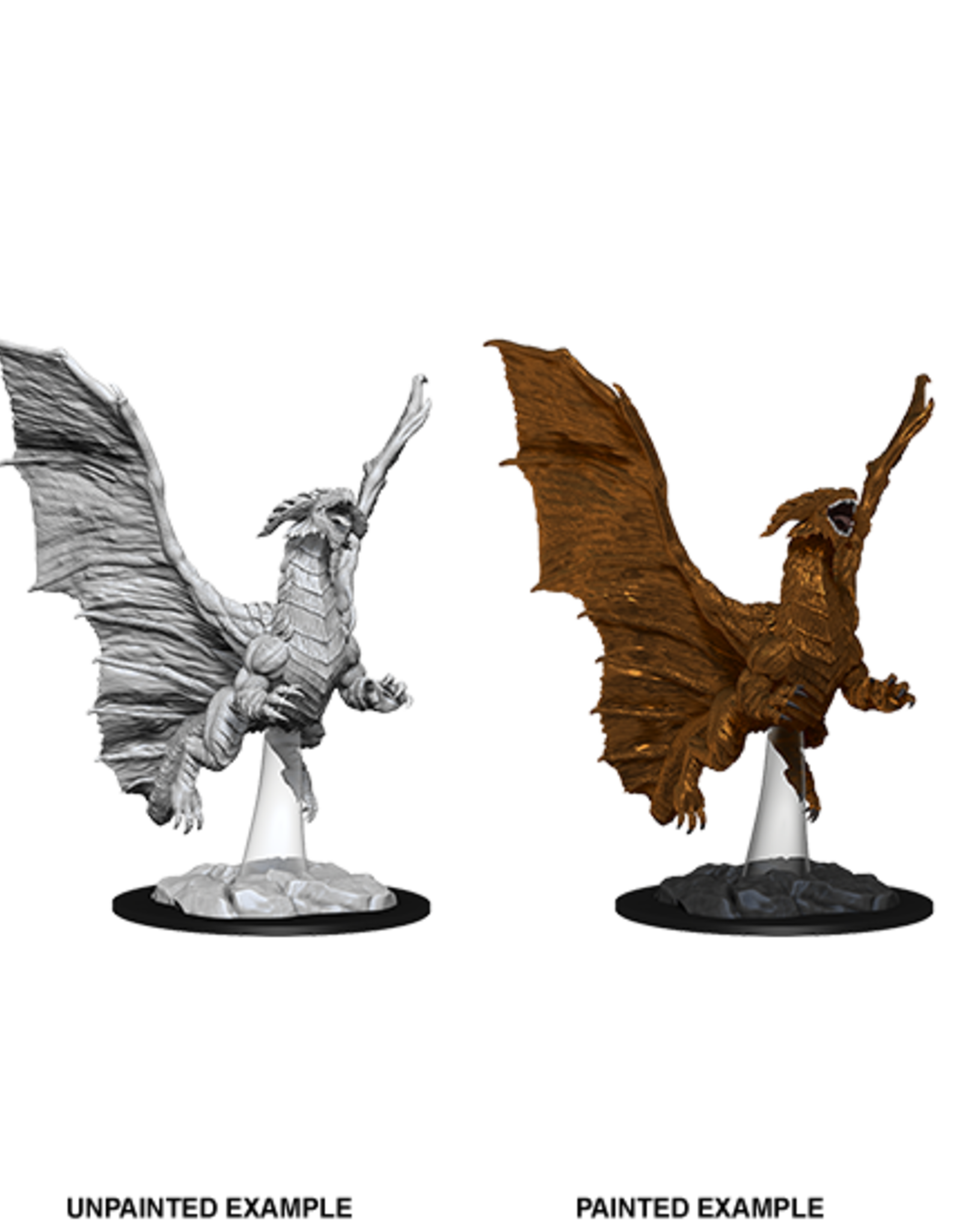 Nolzur's Marvelous Miniatures D&D D&D NMU - Young Copper Dragon