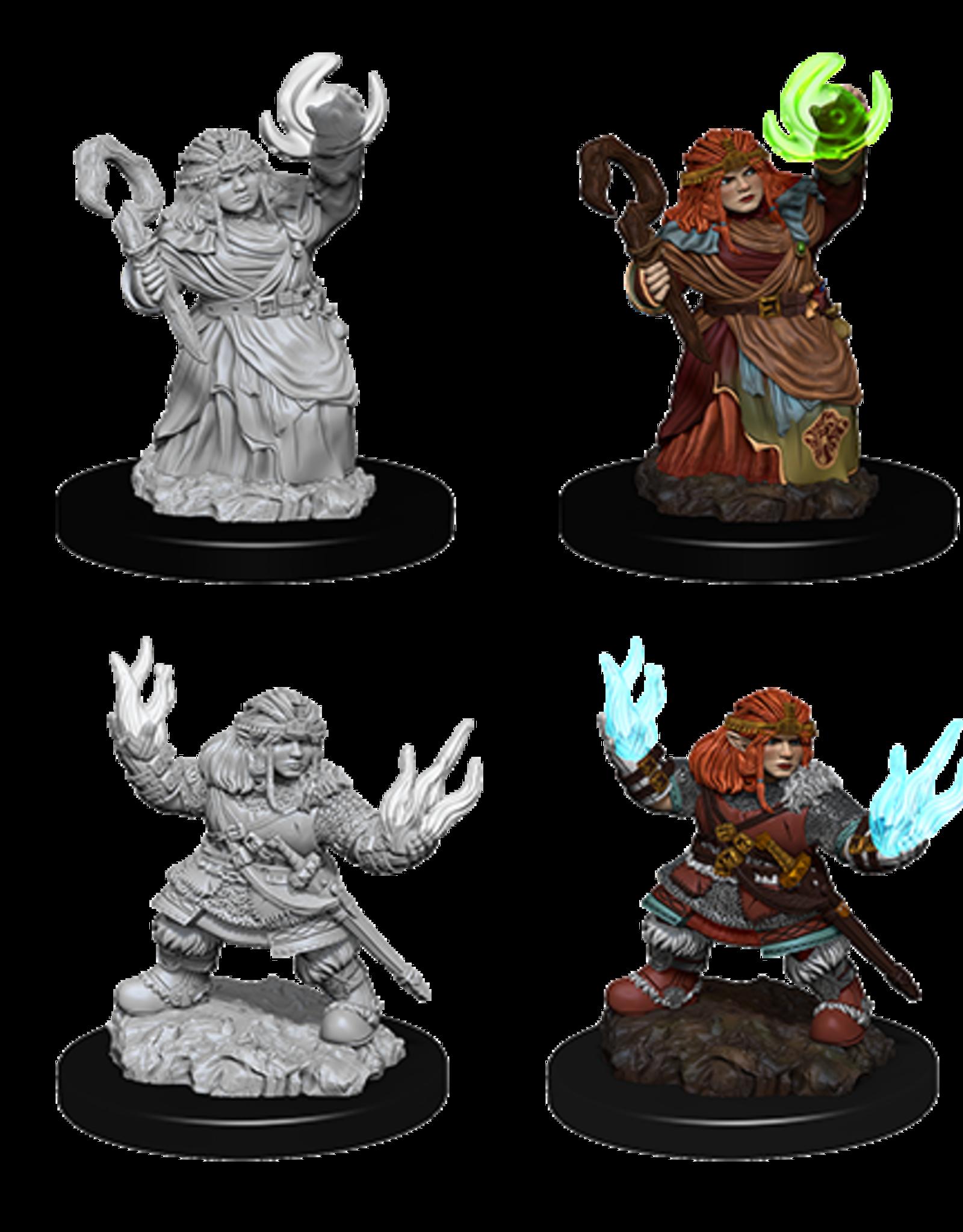 Nolzur's Marvelous Miniatures D&D D&D NMU - Female Dwarf Summoner