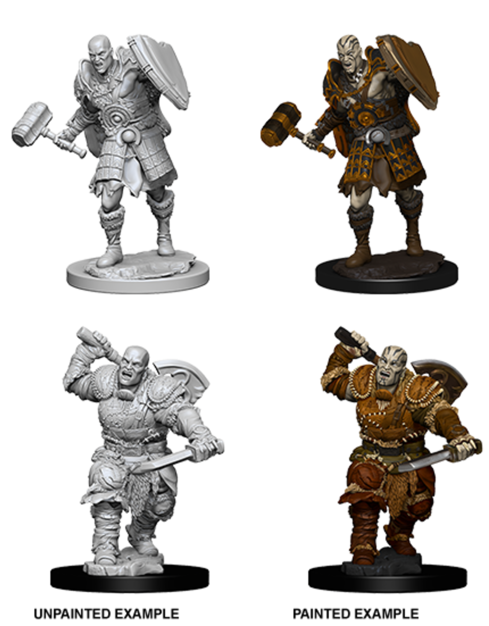 Nolzur's Marvelous Miniatures D&D D&D NMU - Male Goliath Fighter