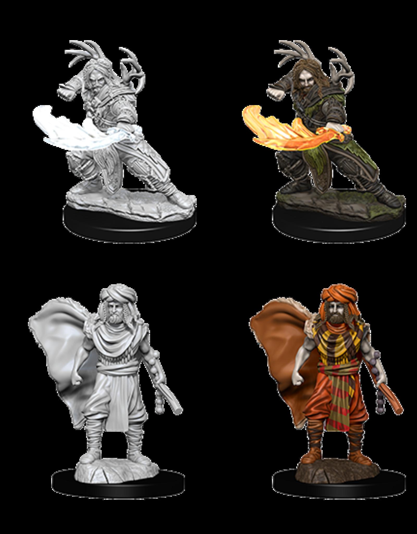 Nolzur's Marvelous Miniatures D&D D&D NMU - Human Druid Male