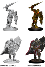 Nolzur's Marvelous Miniatures D&D D&D NMU - Death Knight & Helmed Horror (W6)