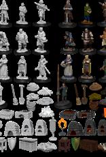 Nolzur's Marvelous Miniatures D&D D&D NMU - Castle - Kingdom Retainers (W12)