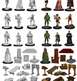 Nolzur's Marvelous Miniatures D&D D&D NMU - Royal Court (W12)