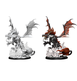 Nolzur's Marvelous Miniatures D&D D&D NMU - Nightmare Dragon (W12)
