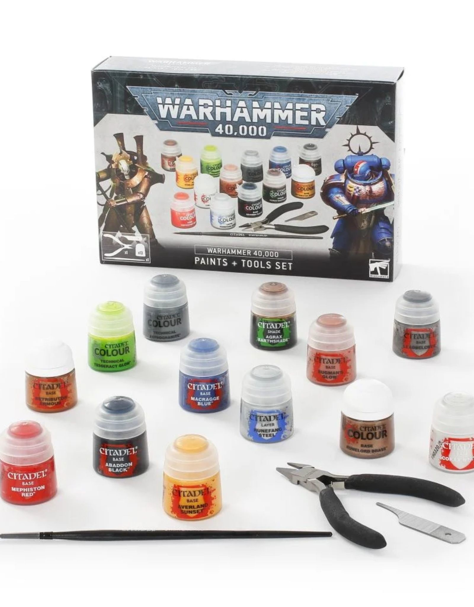 Warhammer 40k Citadel 40k Paints & Tools