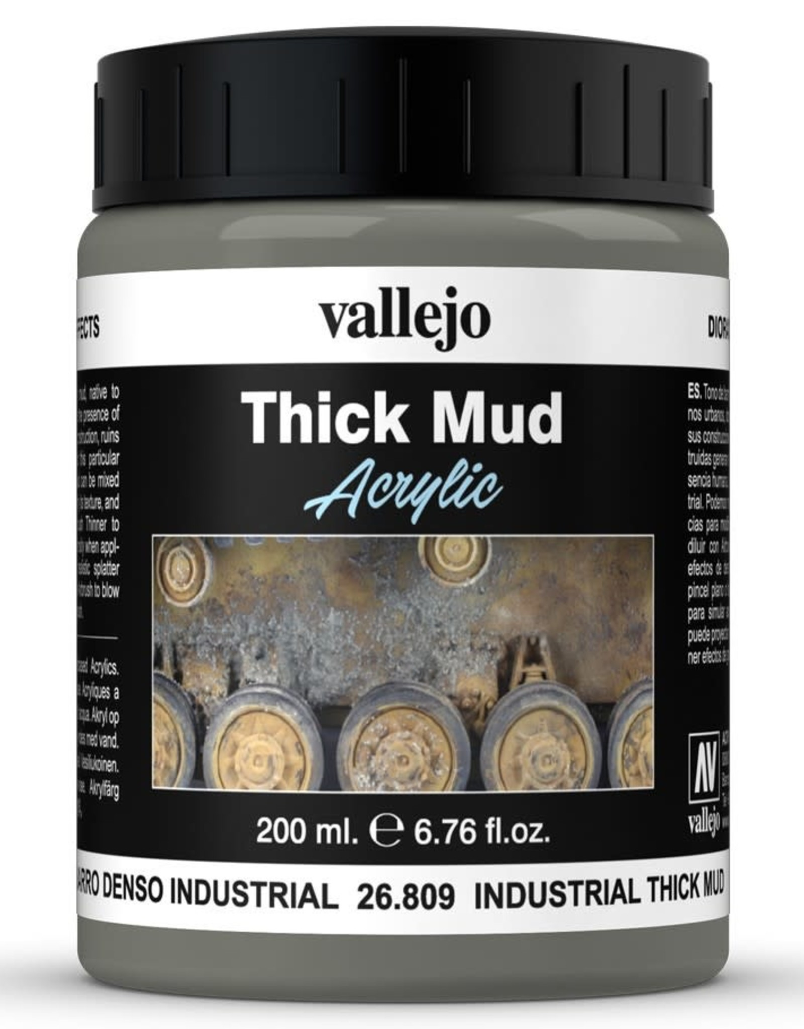 Vallejo Diorama Effects: Industrial Thick Mud