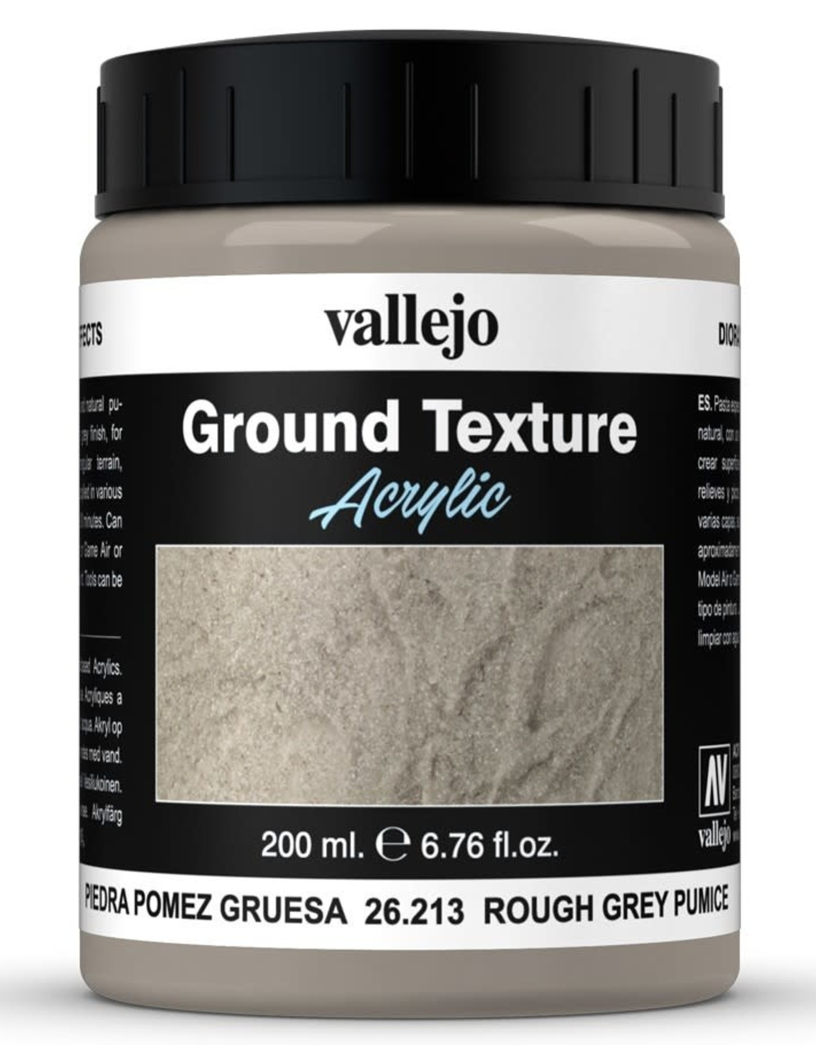 Vallejo Diorama Effects: Ground Texture - Rough Grey Pumice