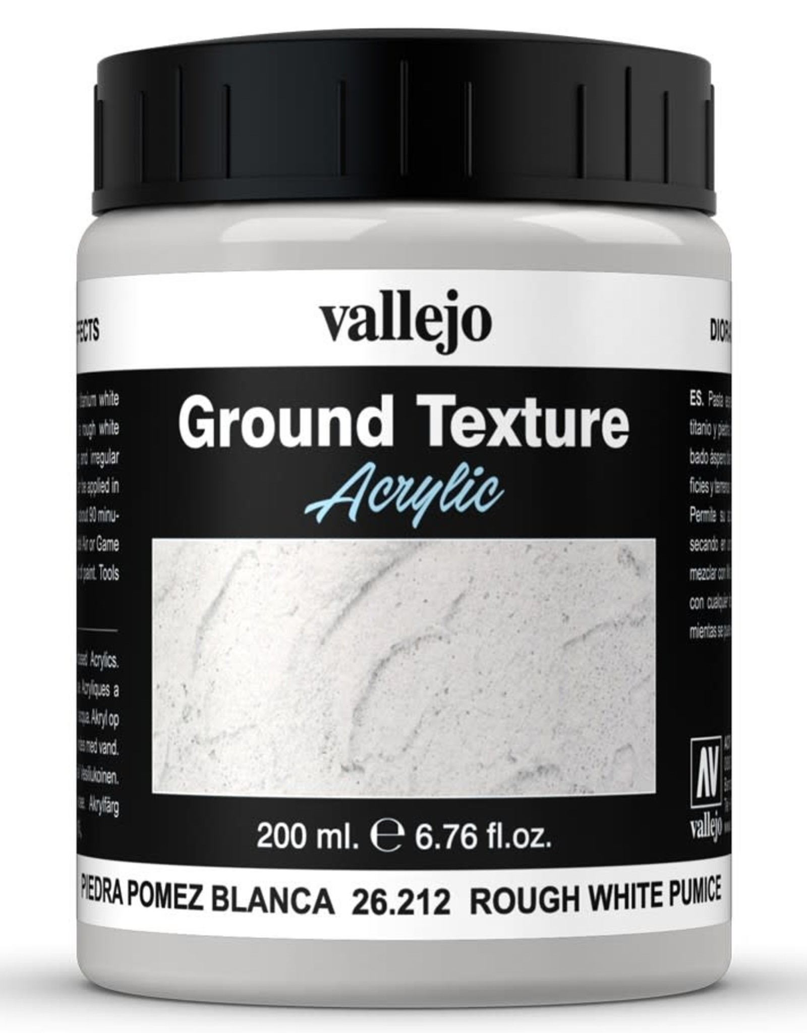 Vallejo Diorama Effects: Ground Texture - Rough White Pumice